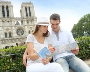 The classic travel guidebook are still popular